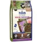 Корм Bosch Maxi Senior для собак крупных пород старше 7 лет, с птицей и рисом, 12.5 кг