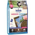 Корм Bosch Medium Junior для щенков средних пород, с домашней птицей, 15 кг