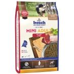 Корм Bosch Mini Adult для собак малых пород, с ягненком и рисом, 15 кг