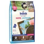Корм Bosch Mini Junior для щенков малых пород, с домашней птицей, 3 кг