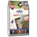 Корм Bosch Mini Light для собак малых пород с избыточным весом, с домашней птицей, 2.5 кг