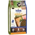Корм Bosch Adult для взрослых собак всех пород, с птицей и просом, 15 кг