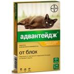 Адвантейдж (Bayer) 40 К для котят и кошек до 4 кг (4 пипетки х 0.4 мл), 10 г