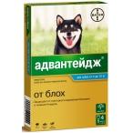 Адвантейдж (Bayer) для собак от 4 до 10 кг (4 пипетки х 1 мл)