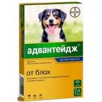 Адвантейдж (Bayer) для собак более 25 кг (4 пипетки х 4 мл)