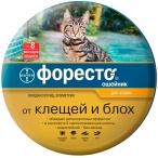Форесто (Bayer) ошейник для кошек, против блох и клещей, 38 см
