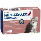 Мильбемакс (Elanco) для котят и молодых кошек, от глистов, 2 таб.