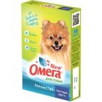 """ОМЕГА NEO (Фармакс) витамины """"Блестящая Шерсть"""" для собак, с биотином, 90 таб., 60 г"""