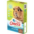 ОМЕГА NEO (Фармакс) лакомство для грызунов, с биотином, гранулы, 50 г