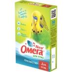 ОМЕГА NEO (Фармакс) лакомство для птиц, с биотином, в гранулах, 65 г