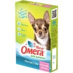 """ОМЕГА NEO (Фармакс) витамины """"Веселый Малыш"""" для щенков, с пребиотиком, 60 таб., 40 г"""