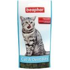 Cat-A-Dent Bits (Beaphar) подушечки для кошек, для чистки зубов, 35 г