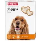 Doggy's Senior (Beaphar) кормовая добавка для собак старше 7 лет, 75 таб.