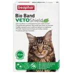 VETO Shield Bio Band (Beaphar) биоошейник для кошек и котят, от эктопаразитов, зеленый, 35 см