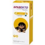Бравекто (Intervet) Спот Он капли на холку для собак весом 2-4.5 кг, от клещей и блох, 112.5 мг