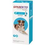 Бравекто (Intervet) Спот Он капли на холку от блох и клещей для собак весом 20-40 кг, 1000 мг
