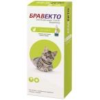 Бравекто (Intervet) Спот Он капли на холку для кошек весом 1.2-2.8 кг, от клещей и блох, 112.5 мг