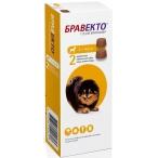 Бравекто (Intervet) жевательная таблетка от блох и клещей для собак весом 2-4.5 кг, 112.5 мг (2 таблетки)