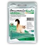 Boehringer / Merial ФРОНТЛАЙН Комбо капли для кошек, от блох и клещей, 2.68 мл