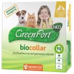 GreenFort NEO (Neoterica) биоошейник для кошек и собак малых пород, от паразитов, 40 см