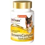 Unitabs (Neoterica) BrewersComplex витаминно-минеральный комплекс для крупных собак, для кожи и шерсти, 100 таб.