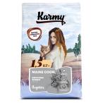 Корм Karmy Main Coon Adult для кошек породы мейн-кун, с индейкой, 1.5 кг