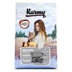 Корм Karmy British Shorthair Kitten для котят породы британская короткошерстная, беременных и кормящих кошек, с индейкой, 1.5 кг