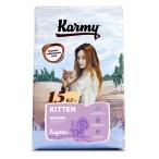 Корм Karmy Kitten для котят, беременных и кормящих кошек, с индейкой, 1.5 кг
