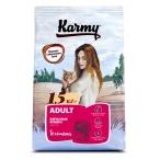 Корм Karmy Adult для кошек, с телятиной, 10 кг