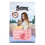 Корм Karmy Delicious для кошек, привередливых к еде, с индейкой, 10 кг
