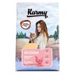 Корм Karmy Delicious для кошек, привередливых к еде, с курицей, 10 кг