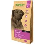 Корм TiTBiT для собак крупных пород, ягненок с рисом, 13 кг