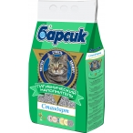 Наполнитель Барсик Стандарт для кошек, впитывающий, 15 л, 12.5 кг