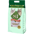 Наполнитель N1 Crystals Антибактериальный для кошек, силикагелевый, 5 л, 2 кг