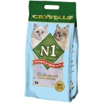 Наполнитель N1 Crystals для кошек, силикагелевый, 12.5 л, 5 кг