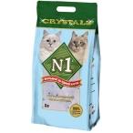 Наполнитель N1 Crystals для кошек, силикагелевый, 3 л, 1.21 кг
