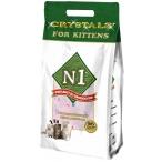 Наполнитель N1 Crystals For Kittens для котят, силикагелевый, 5 л, 2 кг