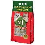 Наполнитель N1 Crystals Compact для кошек, комкующийся, 10 л, 8.45 кг