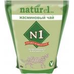 Наполнитель N1 NATUReL Жасминовый чай для кошек, комкующийся, 4.5 л, 1.81 кг