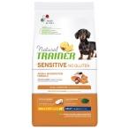 Корм Trainer Natural Sensitive No Gluten Mini Adult Dog Salmon для собак малых пород, с лососем, 2 кг