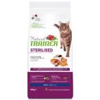Корм Trainer Natural Cat Adult Sterilised Salmon для стерилизованных кошек, с лососем, 10 кг