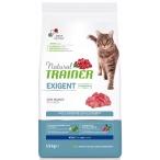 Корм Trainer Natural Exigent Cat Beef для особо привередливых кошек, с говядиной, 1.5 кг