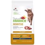 Корм Trainer Natural Cat Sensitive Adult Duck для кошек склонных к пищевой аллергии, непереносимости и обладающих чувствительным пищеварением, с уткой, 1.5 кг