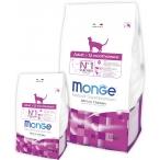 Корм Monge Cat для взрослых кошек, 1.5 кг