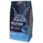 Корм Monge BWild Cat Anchovies для взрослых кошек с анчоусами, 1.5 кг