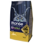 Корм Monge BWild Cat Hare для взрослых кошек с мясом зайца, 1.5 кг