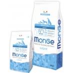 Корм Monge Dog Speciality Light для собак всех пород низкокалорийный лосось с рисом, 12 кг