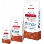 Корм Monge Dog Speciality Mini для взрослых собак мелких пород ягненок с рисом и картофелем, 2.5 кг
