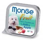 Корм Monge Dog Fruit консервы для собак ягненок с яблоком, 100 г