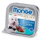 Корм Monge Dog Fresh консервы для собак утка, 100 г